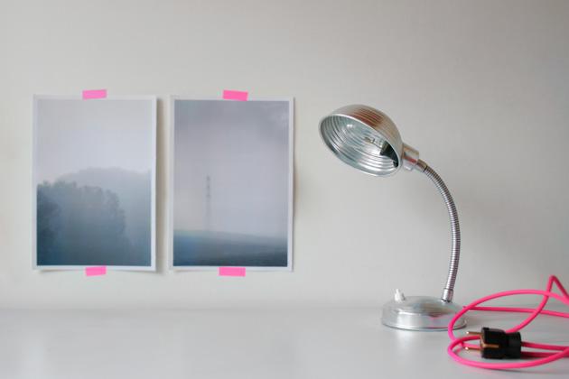 antes y despues de un flexo vintage - before and afte - By I am a Mess