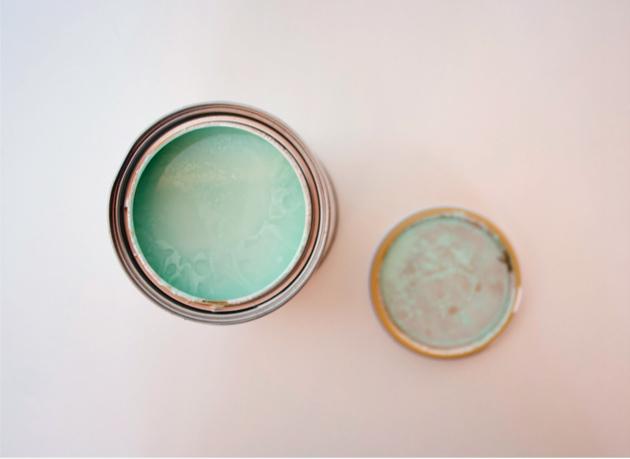 """Restaurando unas patas encontradas By """"I am a Mess"""" : Chalk Paint mint"""