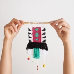 "DIY mini weaving by ""I am a Mess"""