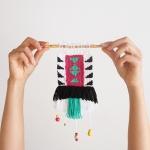 "DIY mini weaving by ""I am a Mess"""