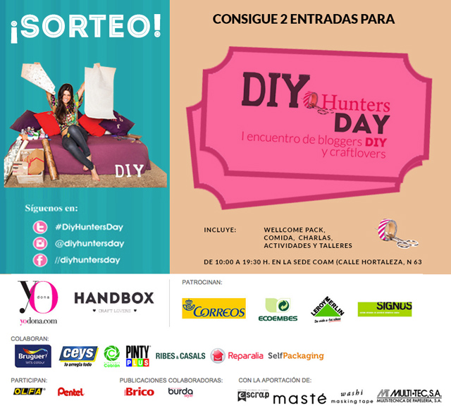 DIY Hunters Day sorteo