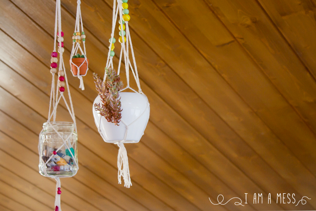 "DIY mini macrame by ""I am a Mess"""