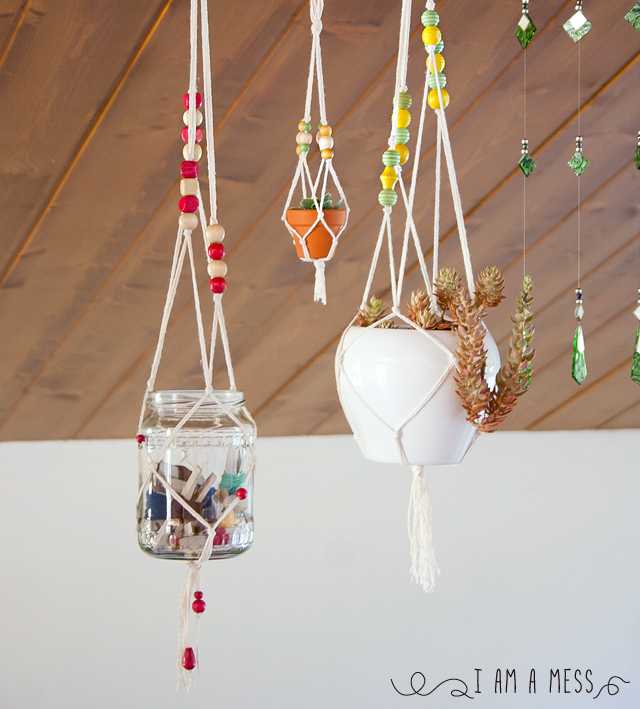 "DIY macrame by ""I am a Mess"""