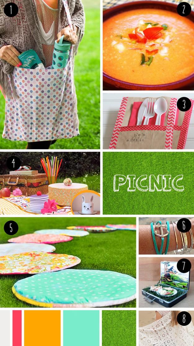 8 picnic DIY seen at 'I am a mess'
