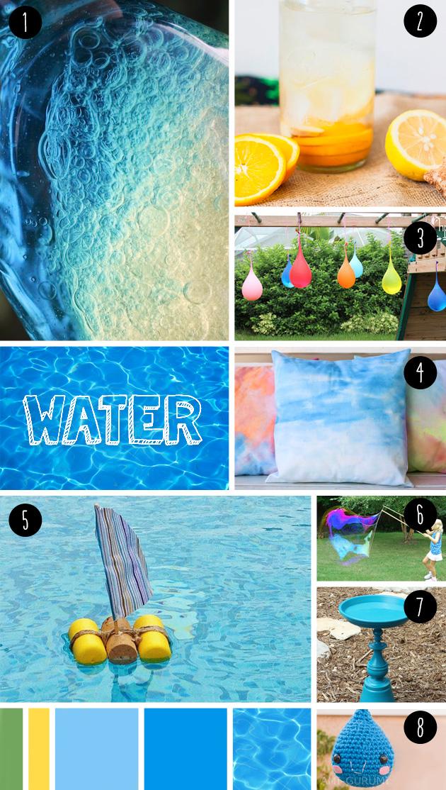 8 water DIY seen at 'I am a mess'